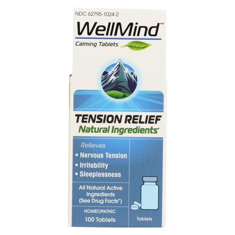 Wellmind Calming - 100 Tablets - Eco-Friendly Home & Grocery
