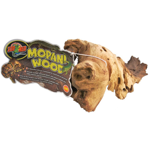 Zoo Med Laboratories Inc - Natural Mopani Wood For Aquariums - 6-8 IN/SMALL - Pet