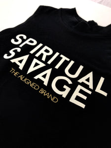 Spiritual Savage High Neck Tank - The Aligned Brand