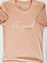 Load image into Gallery viewer, Aligned Unisex Sueded Tee - The Aligned Brand