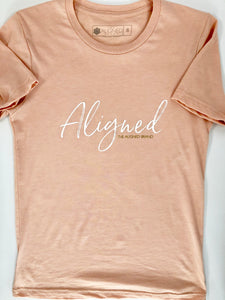 Aligned Unisex Sueded Tee - The Aligned Brand