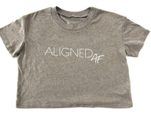 Load image into Gallery viewer, Aligned AF Cropped Tee - The Aligned Brand