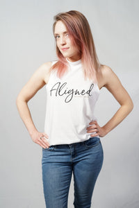 Aligned High Neck Tank - The Aligned Brand