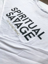 Load image into Gallery viewer, Spiritual Savage Long Sleeve Cropped Tee - The Aligned Brand