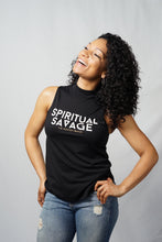 Load image into Gallery viewer, Spiritual Savage High Neck Tank - The Aligned Brand