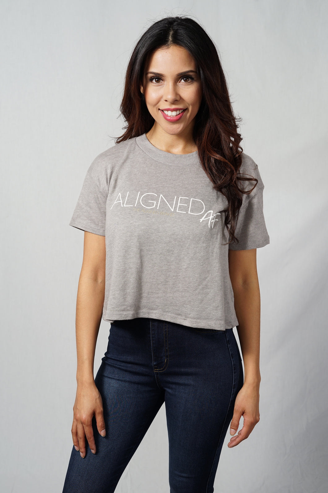 Aligned AF Cropped Tee - The Aligned Brand