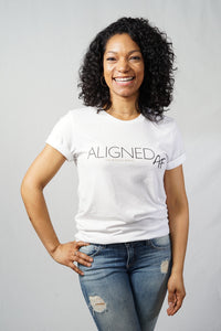 Aligned AF Unisex Sueded Tee - The Aligned Brand
