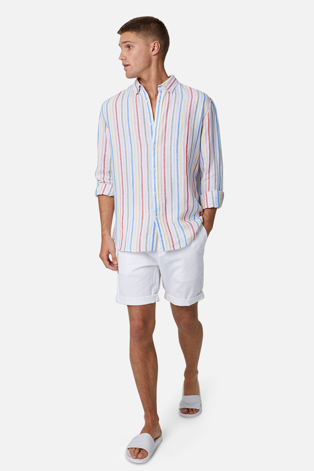The Rinse Short - Antique White