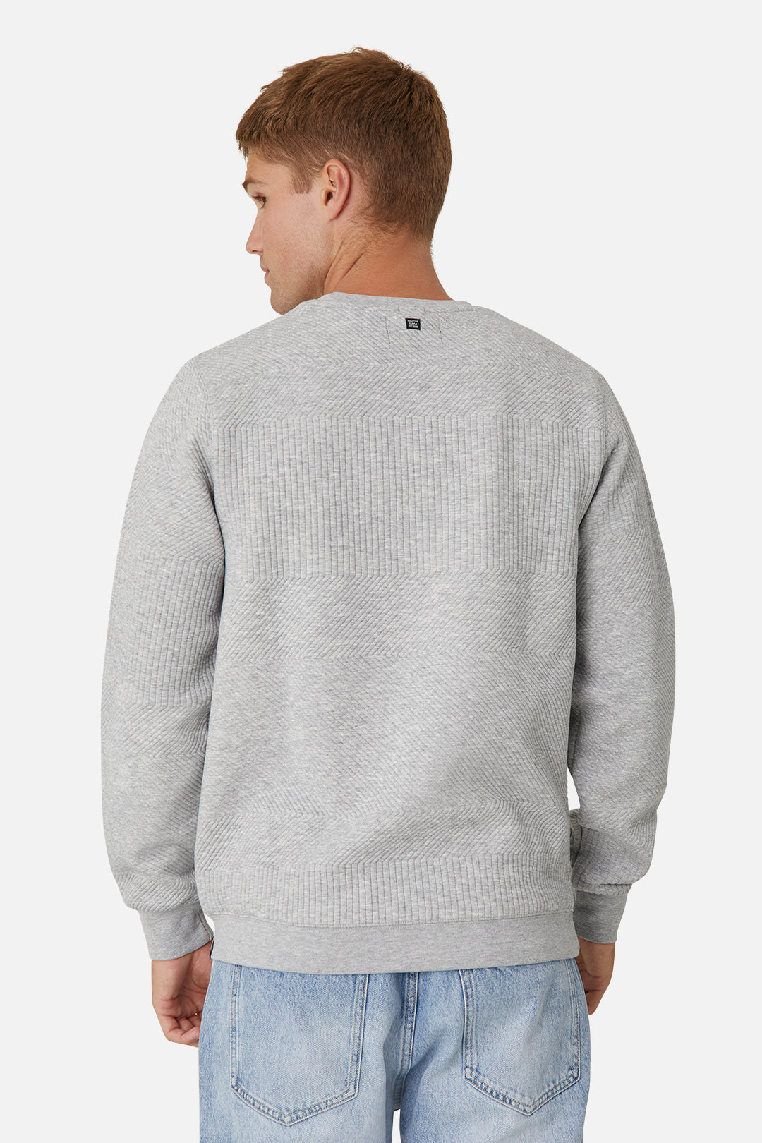 The Robinson Sweat - Light Grey Marle
