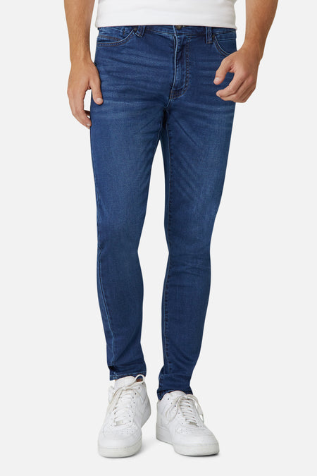 The Denim Drifter Nc Pant - Blue