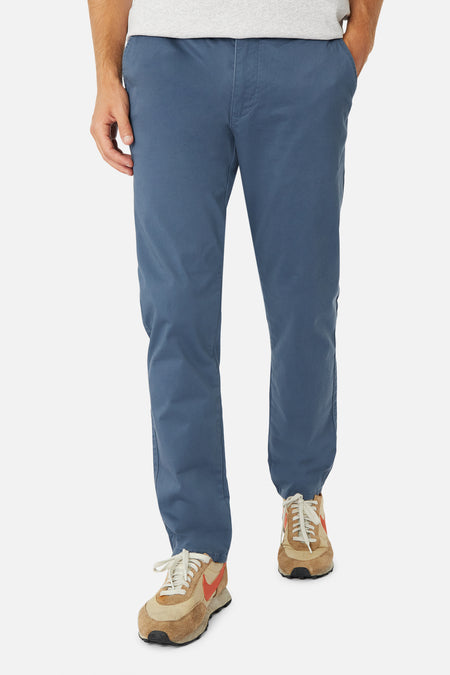 The Regular Cuba Chino Pant - Mid Indigo