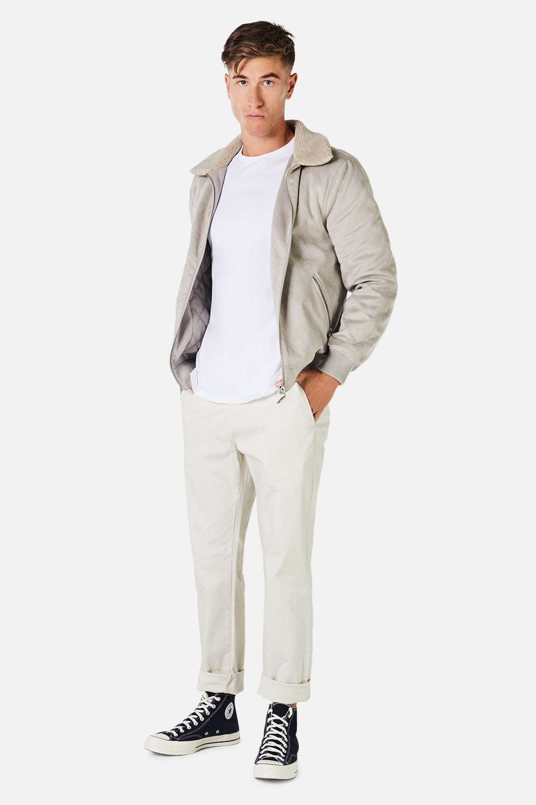 The Mig Jacket - Taupe