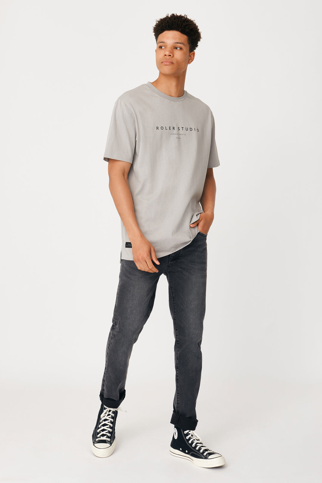 Roler Migos Tee - Light Grey