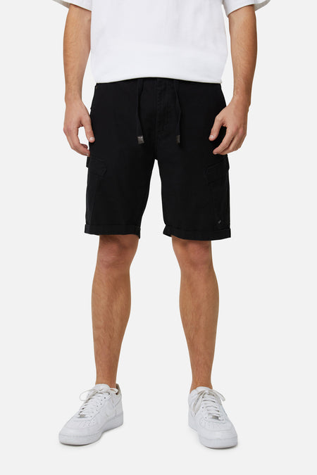 The Mercenary Combat Short - Black