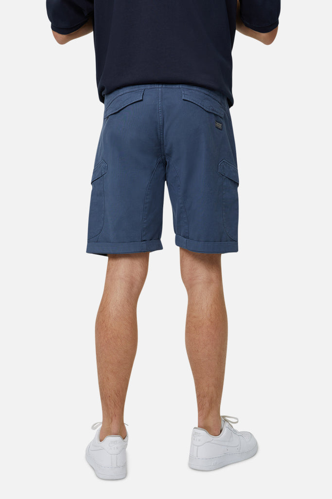The Mercenary Combat Short - Indigo