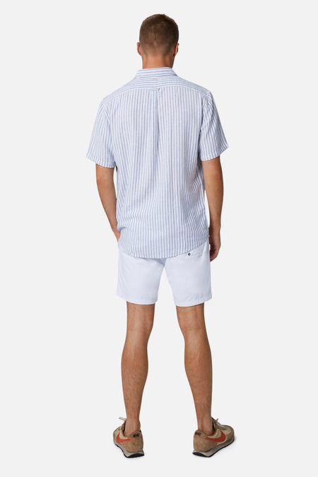 The Wharf S/S Shirt - Bluewhite