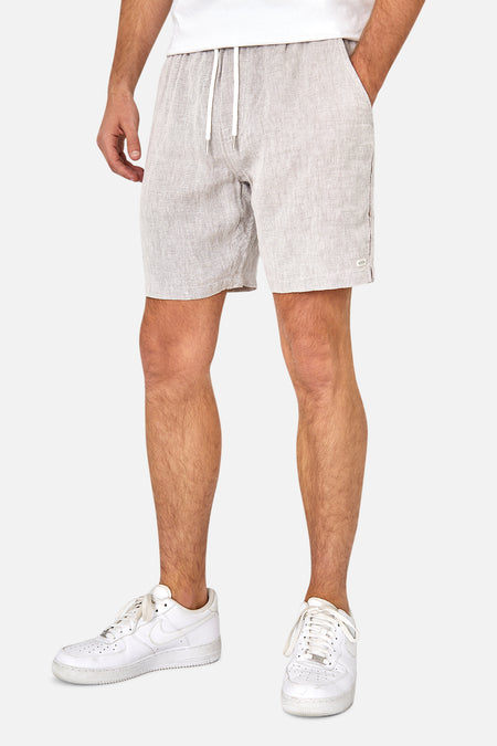 The Agora Linen Short - Oxford