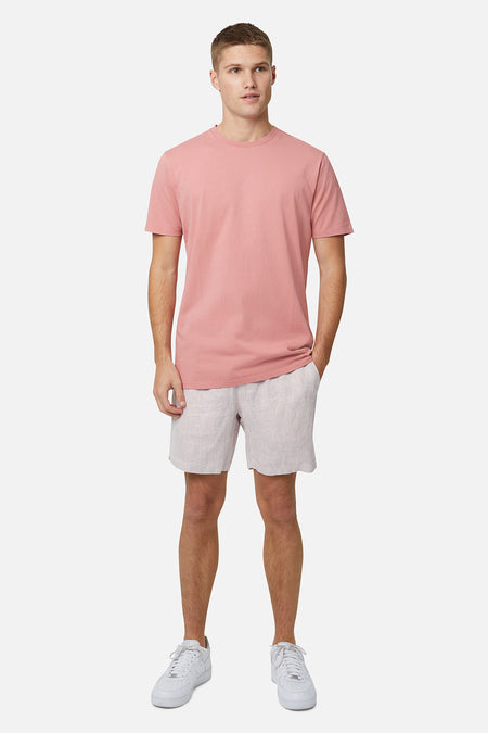 The Agora Linen Short - Melon