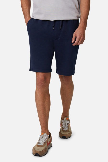 The Grove Track Short - Dark Navy