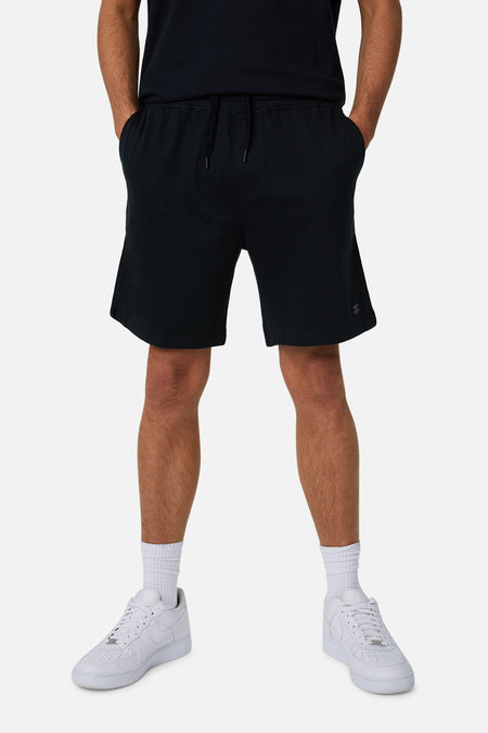 The Grove Track Short - Solid Black