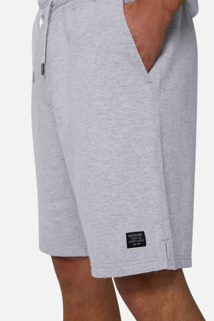 The Grove Track Short - Light Marle Grey