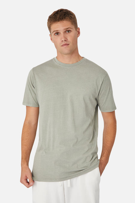 The Basic Classic Tee - Pd Light Sage