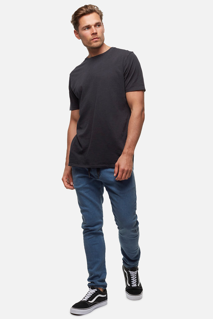 The Basic Classic Tee - Black Pigment Dyed