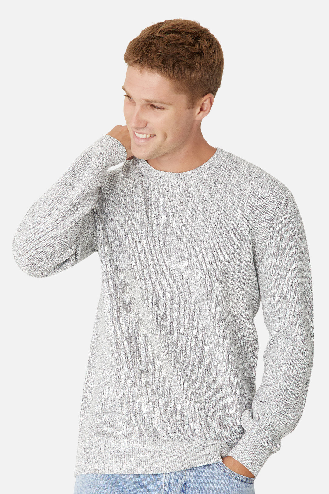 The Kingston Knit - Salt N Pepper