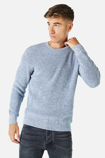 The Kingston Knit - New Blue