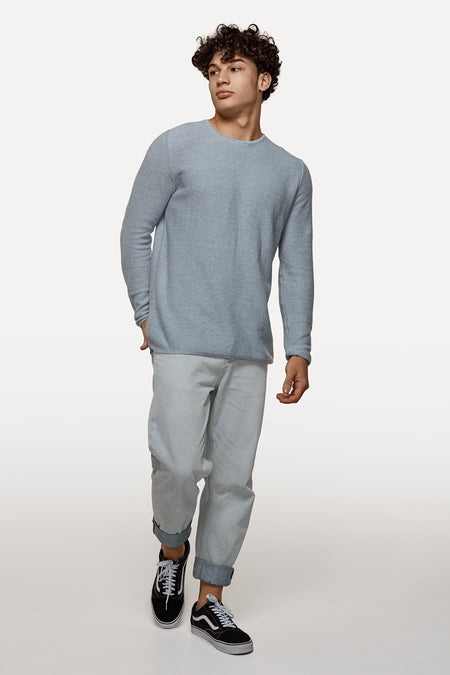 The Richland Knit - Ltbluemarl