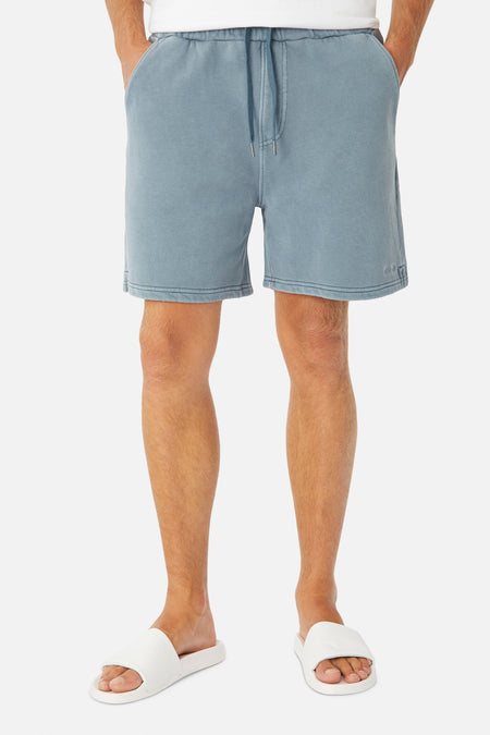 The Del Sur Od Track Short - Blue Slate