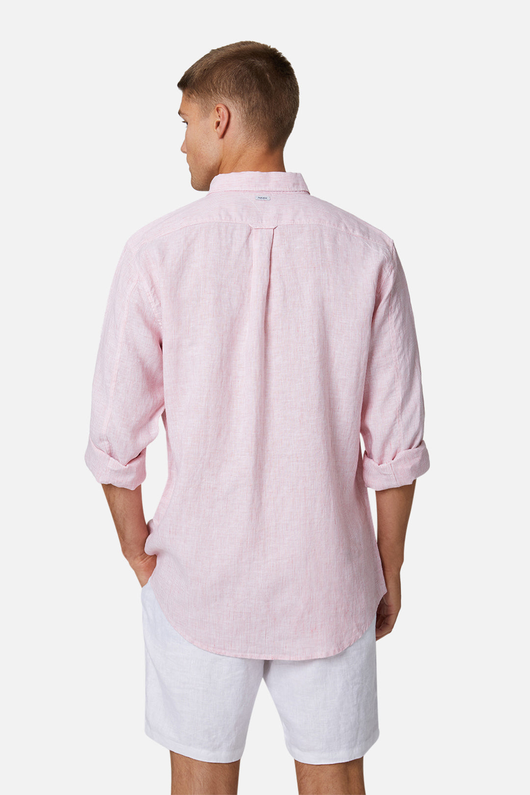The Rochecroft L/S Shirt - Mid Pink