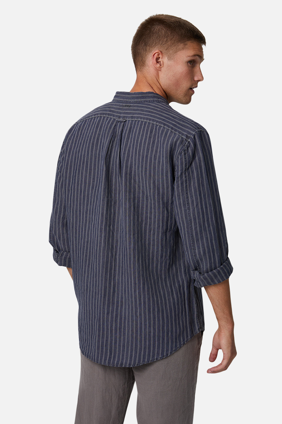 The Chartres L/S Shirt - Anthracite