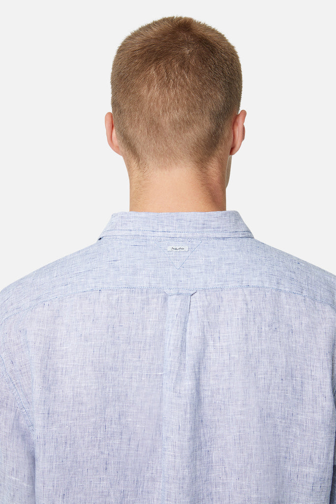 The Newry L/S Shirt - Salt N Pepper