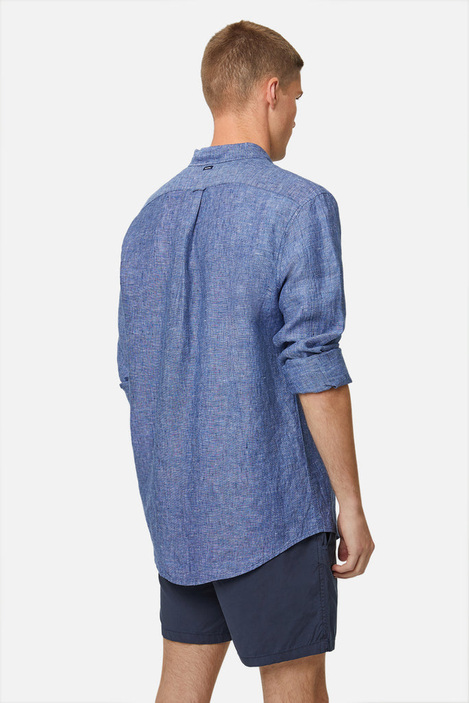 The Newry L/S Shirt - Navy