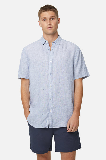The Newry S/S Shirt - Light Blue
