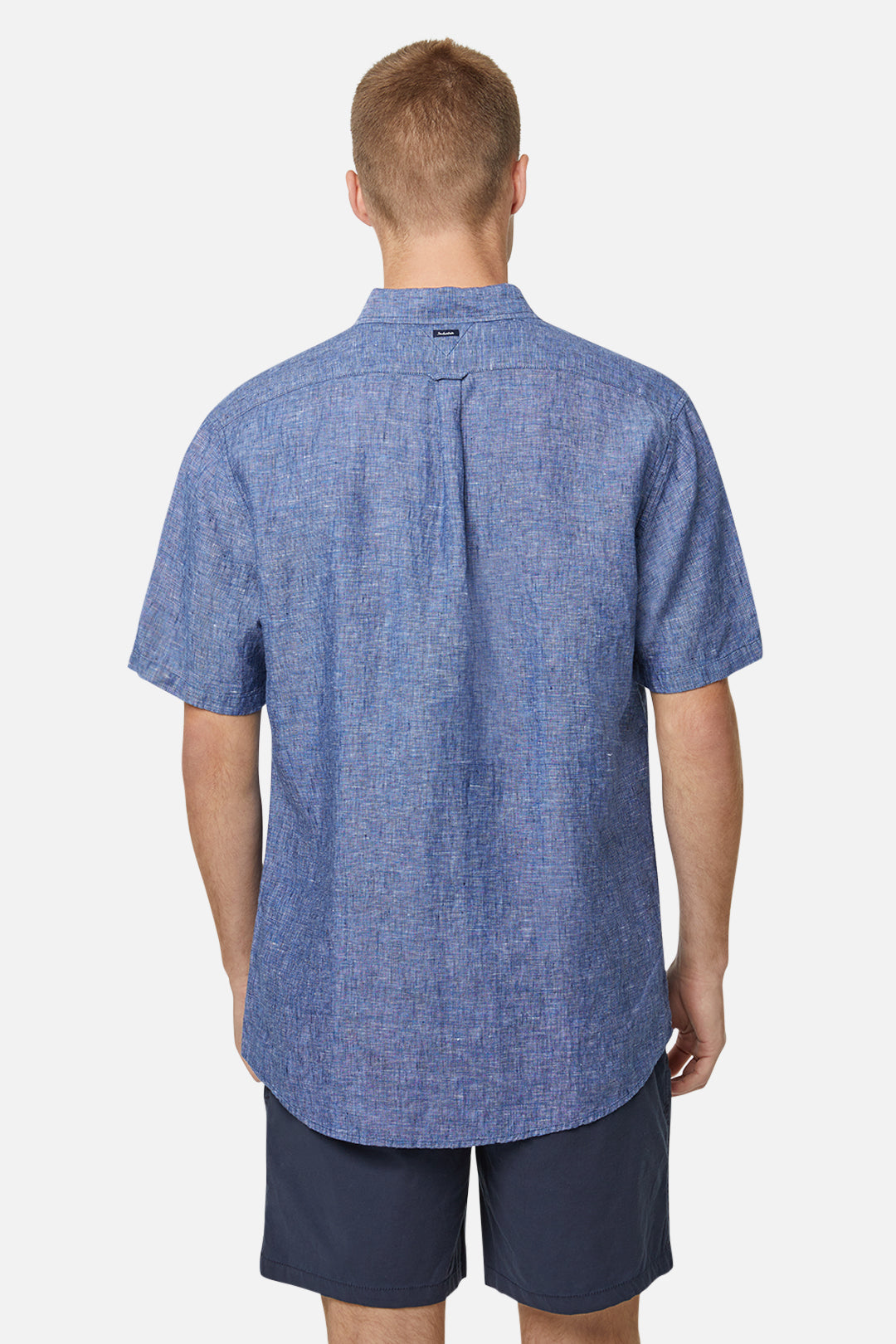 The Newry S/S Shirt - Navy