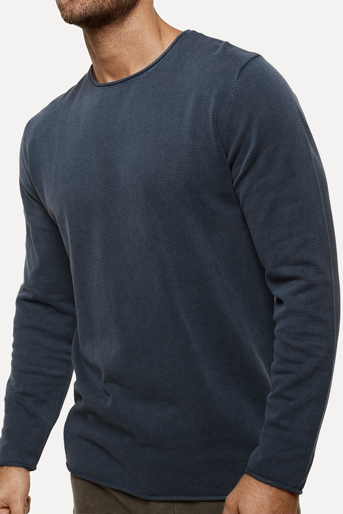 The Delmar Knit - Indigo