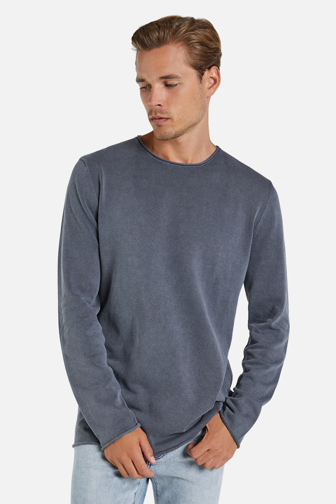 The Delmar Knit - Slate