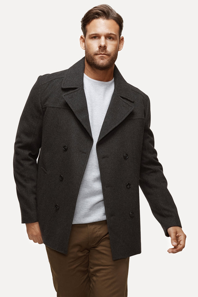 The Holloway Coat - Charcoal