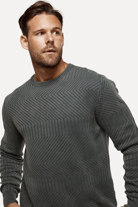 The Robinson Knit - Washed Marine