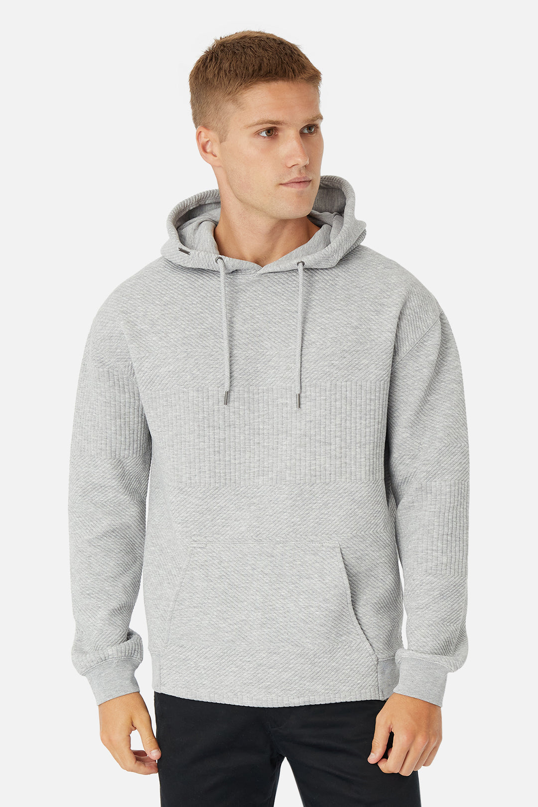 The Robinson Hoodie - Light Grey Heather