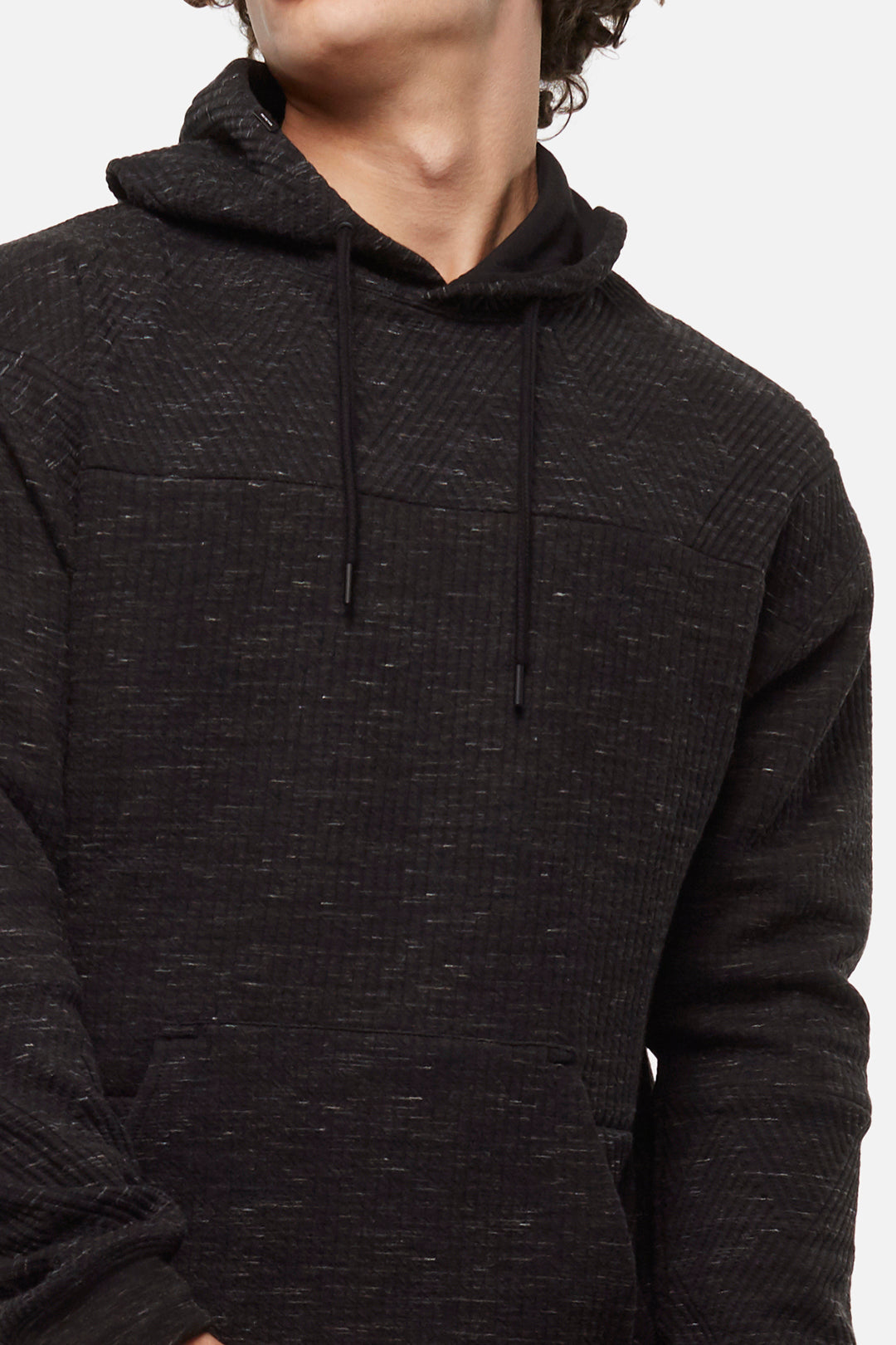 The Liston Hoodie - Blkheather