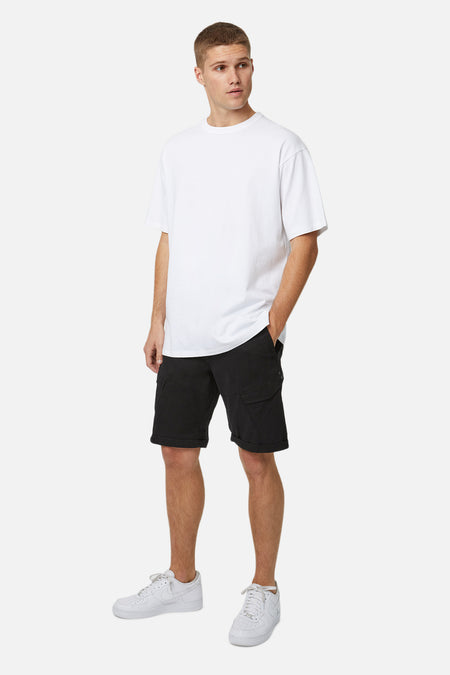 The Partisan Combat Short - Black