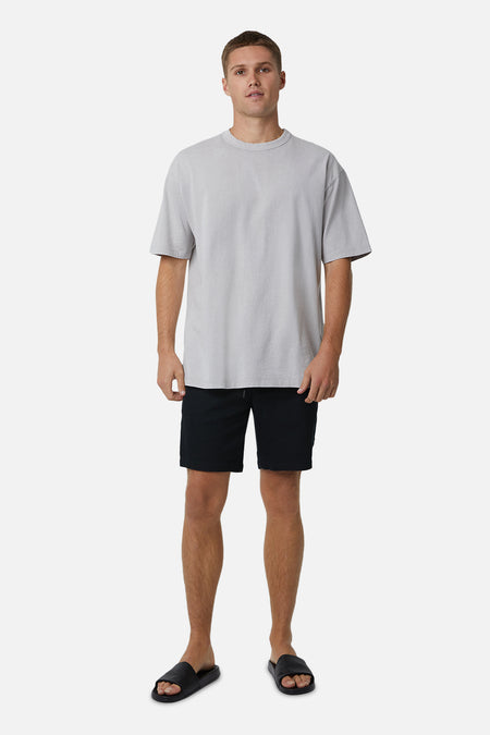 The Baller Drifter Short - Spray Black