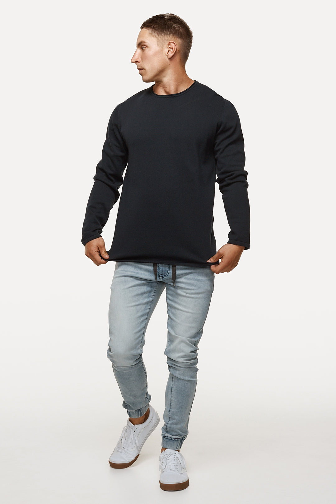The Drake Knit - Black