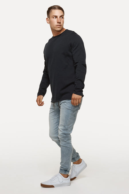 The Drake Knit - Dark Navy