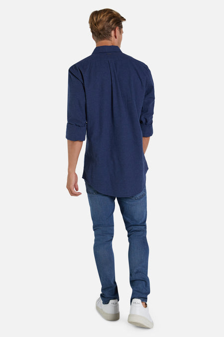 The Taylor L/S Shirt - Indigo