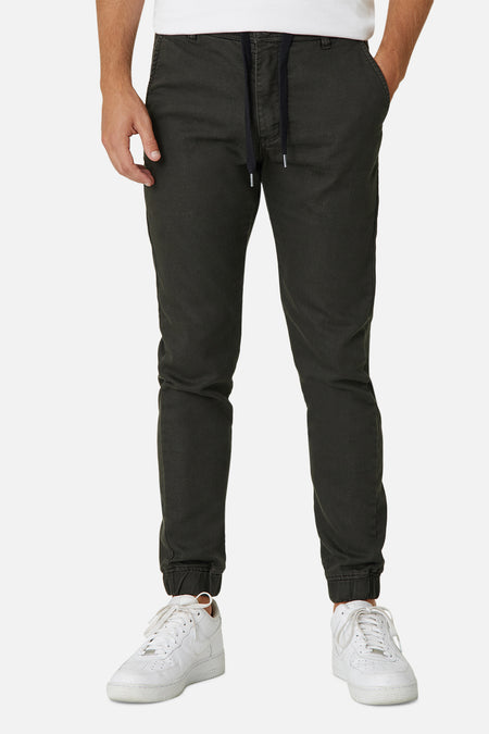 The Drifter Chino Pant - Army Green