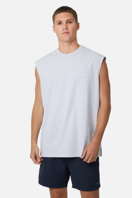 The Del Sur Sleeveless Tee - New Marle Grey